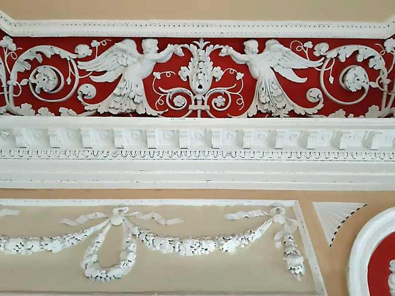 Фрагмент рельєфного фриза