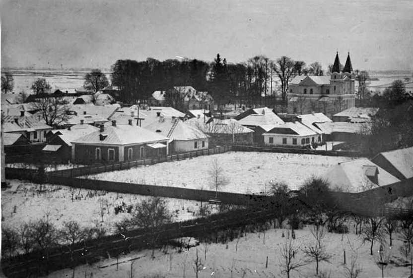1930-і (?) рр. Панорама містечка