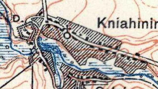 1930-і рр. Фрагмент польської карти