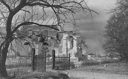 1920-і (?) рр. Руїни костелу