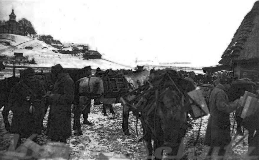 1916 р. (?) Панорама з церквою в…
