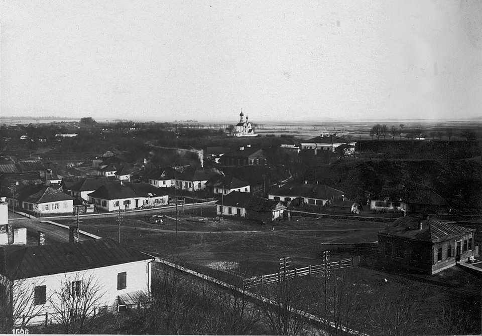 1930-і (?) рр. Панорама з церквою св.…
