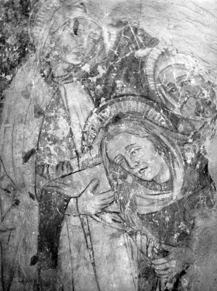 Оплакування Христа (?). Фрагмент
