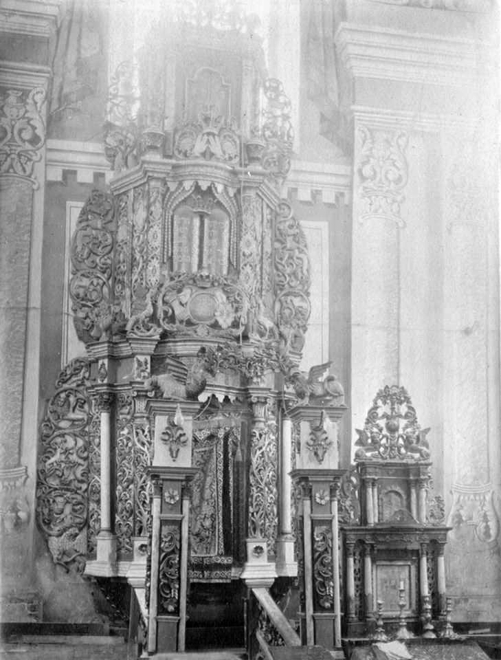 Вівтар (арон-койдеш) у синагозі