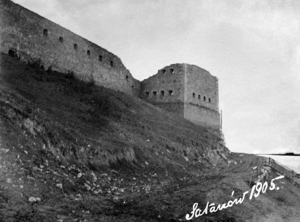 1905 р. Загальний вигляд з півночі