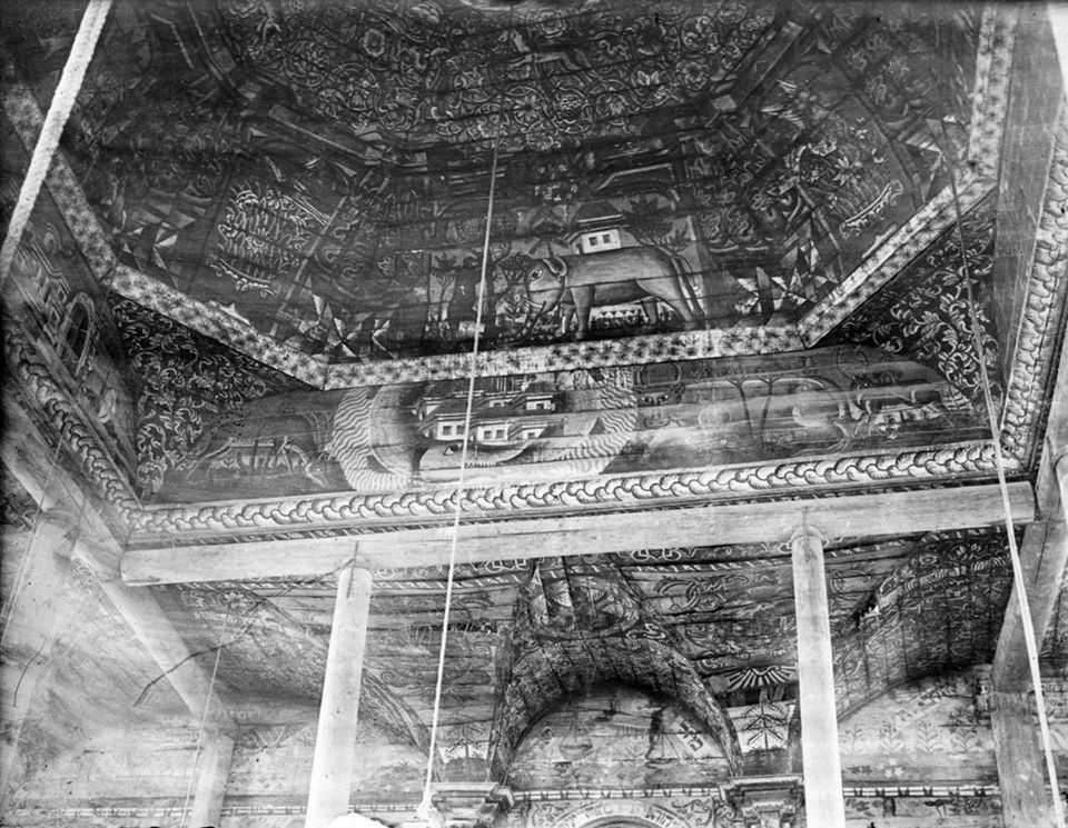 Фрагмент стінопису купола і склепінь
