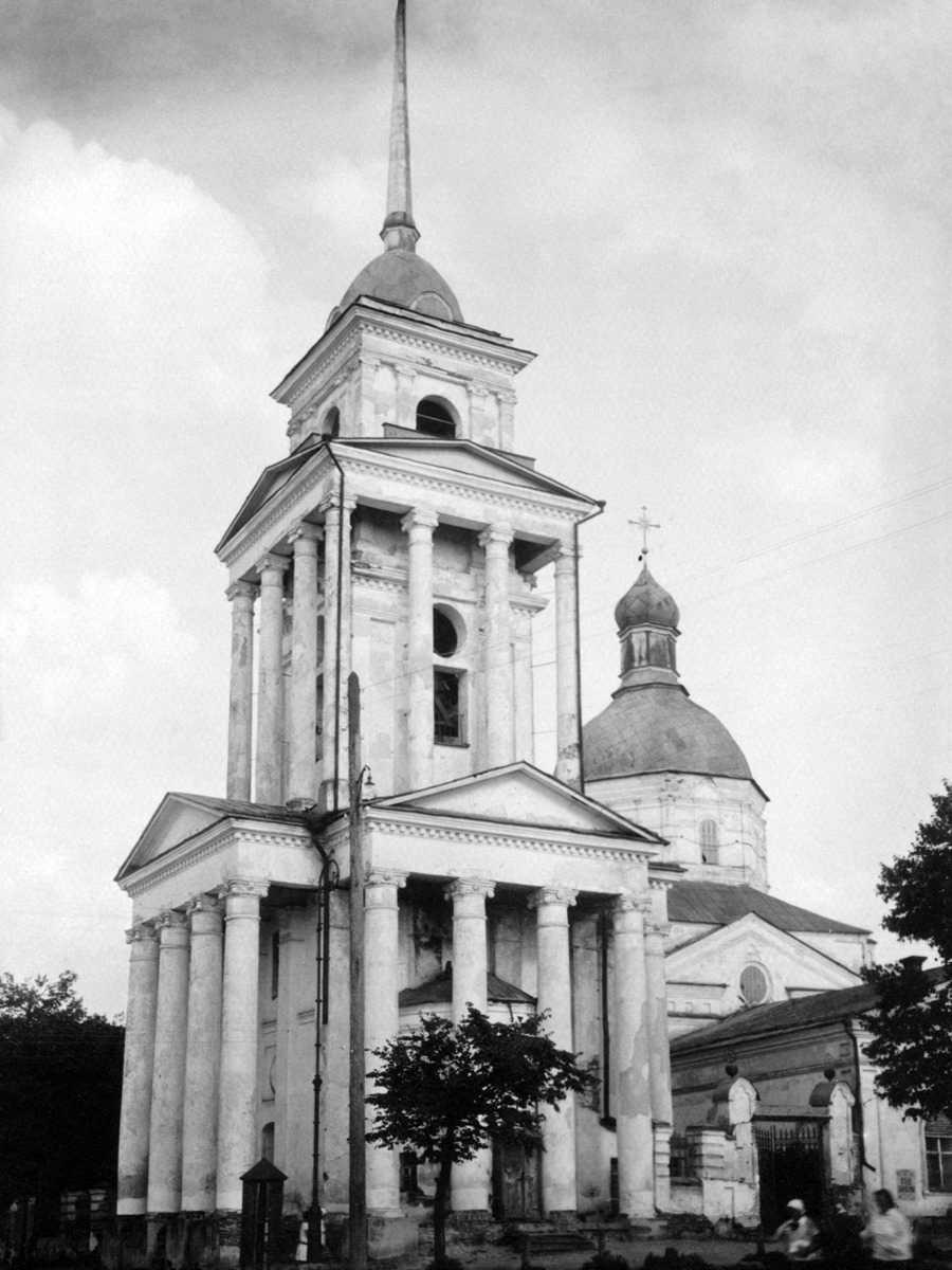 1920-і (?) рр. Дзвіниця і церква.…