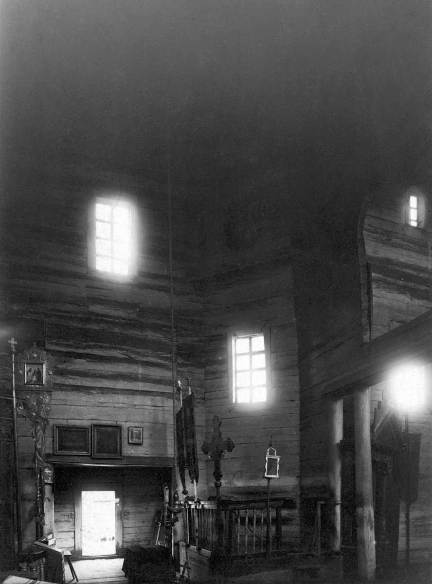 1920-і (?) рр. Інтер'єр бабинця
