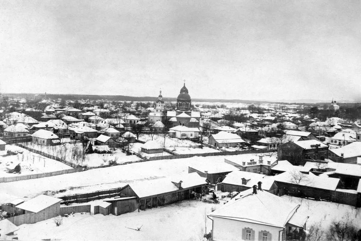 1915 р. Панорама міста з двома…
