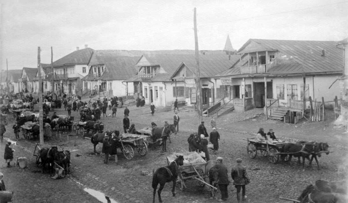 1920-і рр. (?) Забудова міста