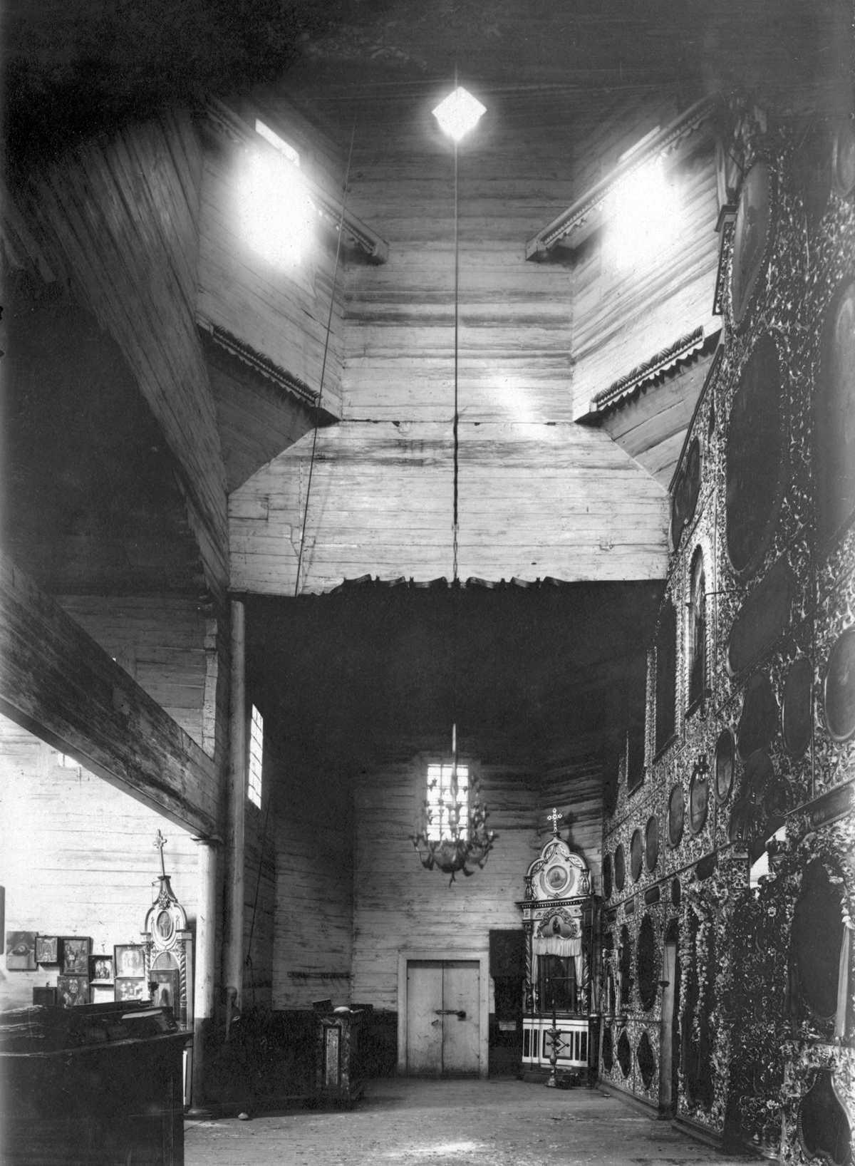 1920-і (?) рр. Інтер'єр середохрестя і…