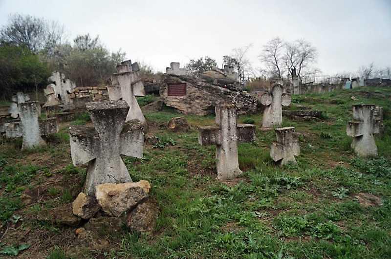 Козацький цвинтар у Малому Куяльнику