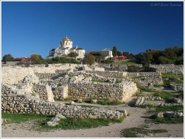 2008 р. Законсервовані руїни і собор