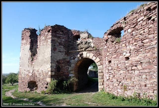 Замкова брама. Вигляд з півдня