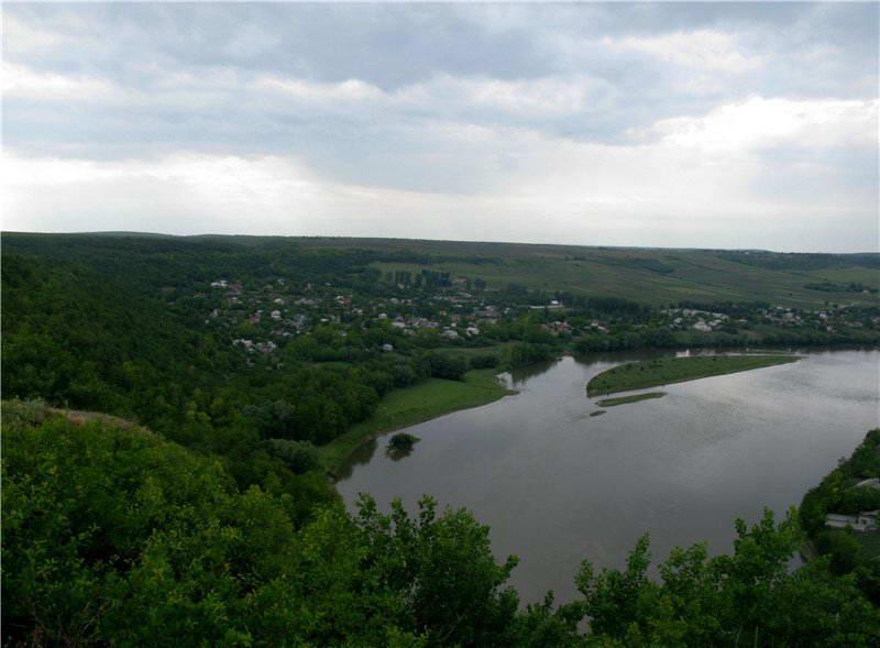 2009 р. Острів на Дністрі проти с.Василів