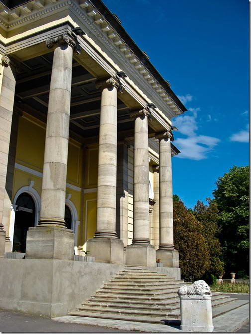 2010 р. Ґанок головного фасаду
