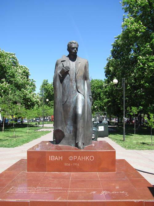 Monument to I. Franko – 2006, Odessa