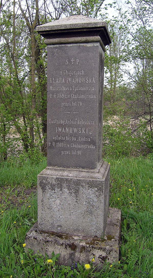 Надгробок Клари і Євстахія Івановських