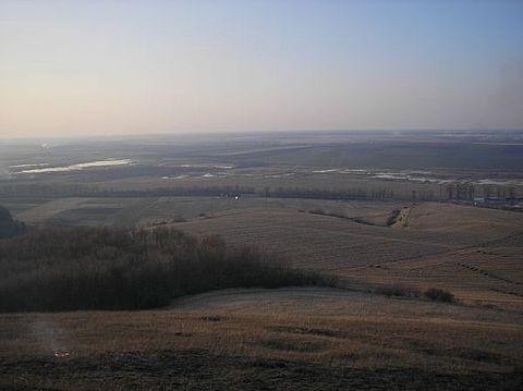 2009 р. Краєвид із замку на північ