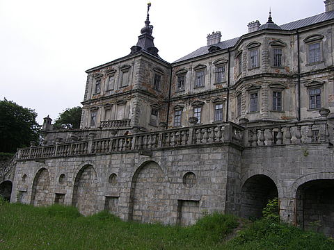 Північний фасад палацу