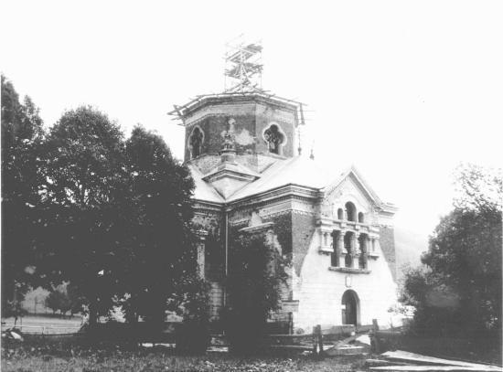 [1970 р. ?] Церква в процесі відбудови