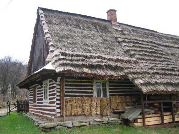 [2003..2006 р.] Стара лемківська хата. Нині - приватний музей Тадеуша Келбасінського