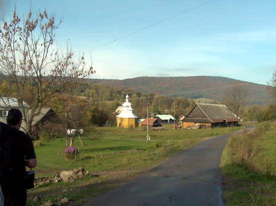 Краєвид з церквою