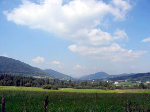 [2003..2006 р.] Панорама села з холма Кичерка