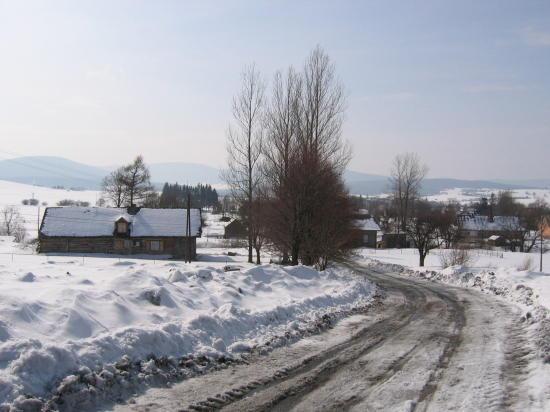 [2003..2006 р.] Панорама села з дороги на Баницю