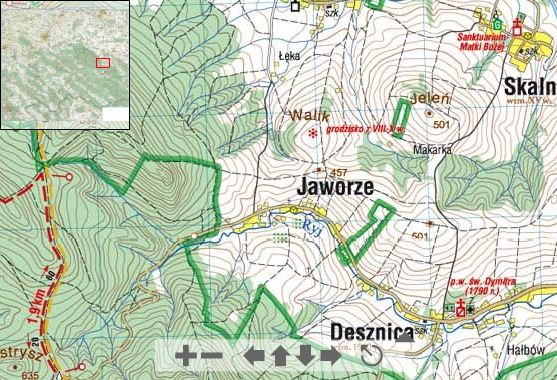 Карта (Явоже)