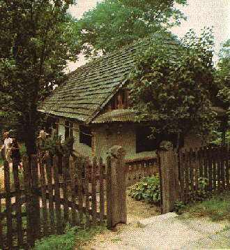 Хата із с.Ракошин Мукачівського району, 1869 р.