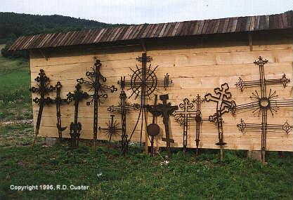 Хрести із церков, зруйнованих після…
