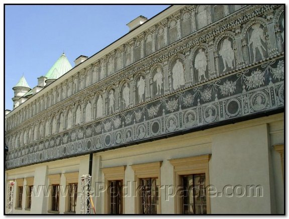 Фрагмент фасаду палацу