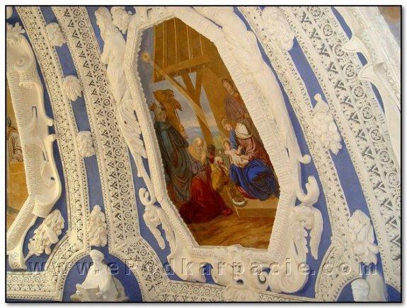 Розписи купола (Різдво Христове)