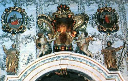 Фрагмент прикрас костелу
