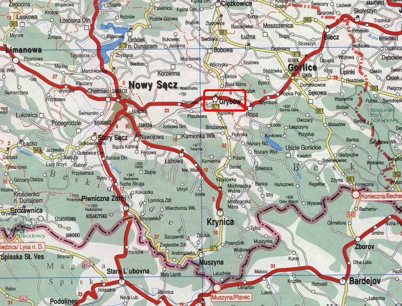 Карта повіту