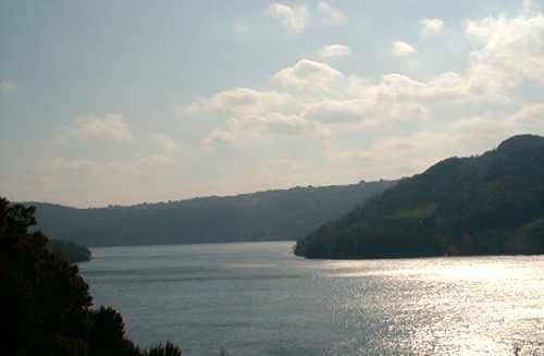 Вид Рожнівського водосховища