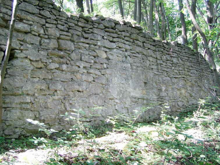 [2006 р.] Фрагмент північного муру