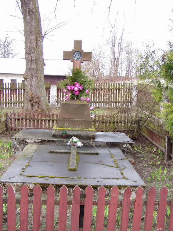 Надгробок Євгена Хомінського
