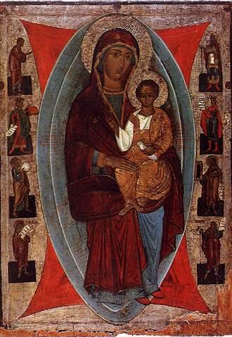 Богородиця Одигітрія з пророками