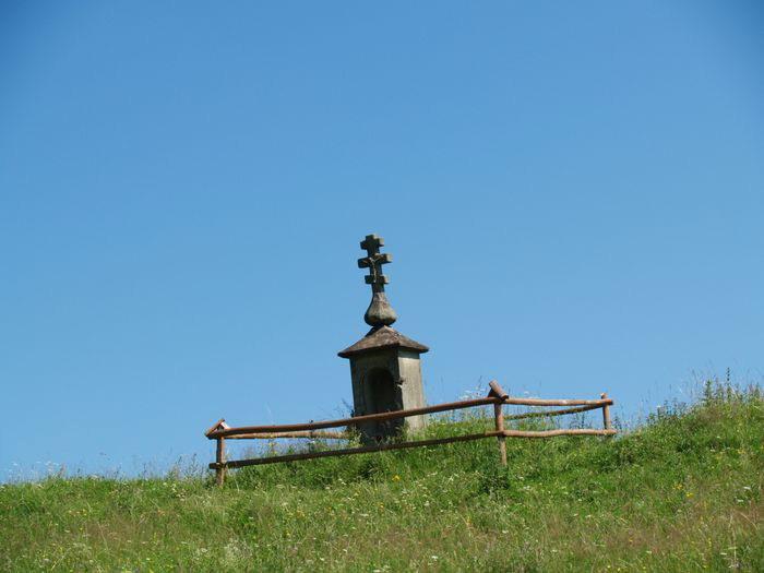 [2006 р.] Хрест при дорозі до Ясенки