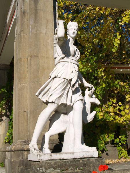 """[2006 р.] Паркова скульптура """"Артеміда…"""