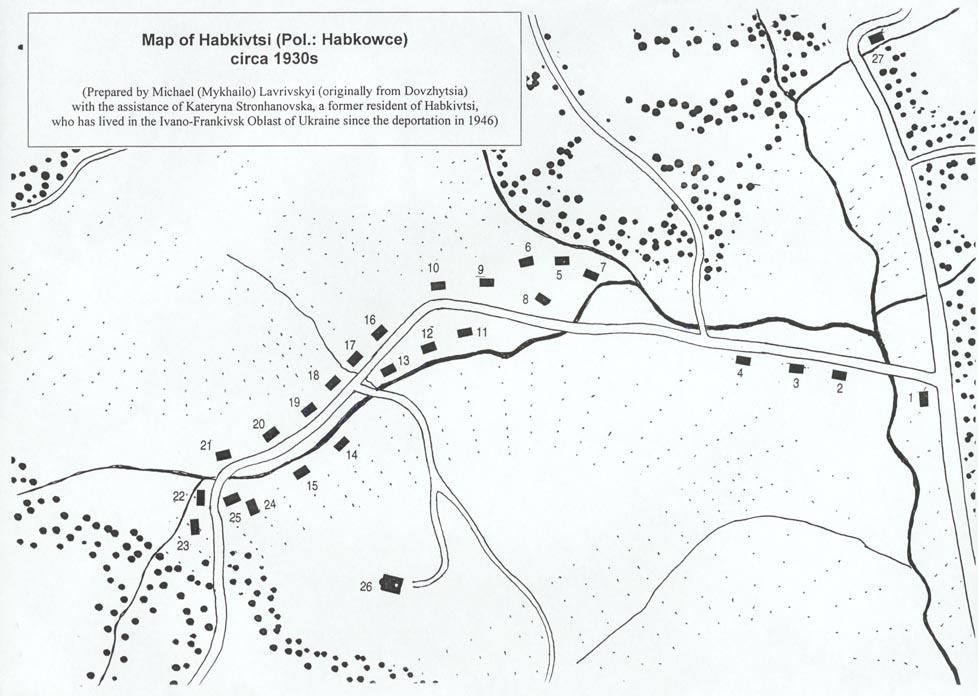 1930-і рр. Кадастрова карта