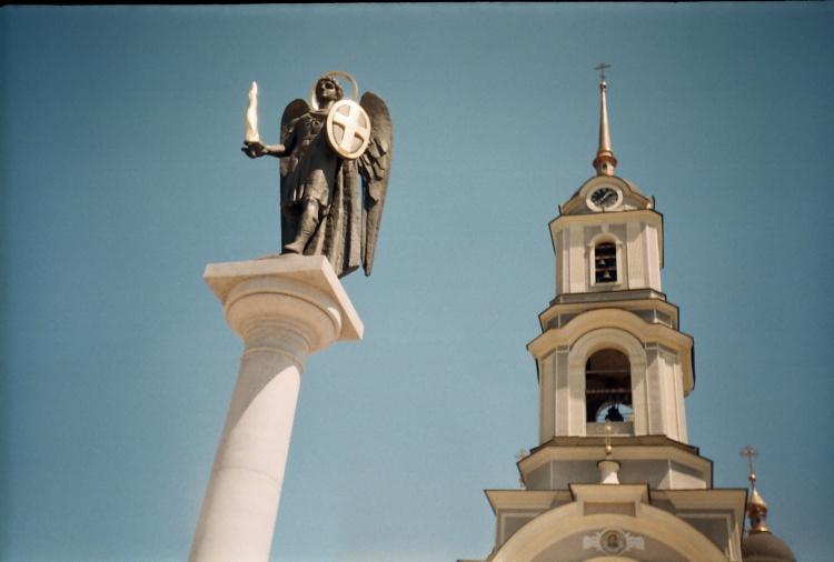 2005 р. Скульптура архангела Михаїла…