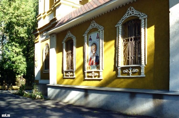2005 р. Бічний фасад. Вигляд з позиції…