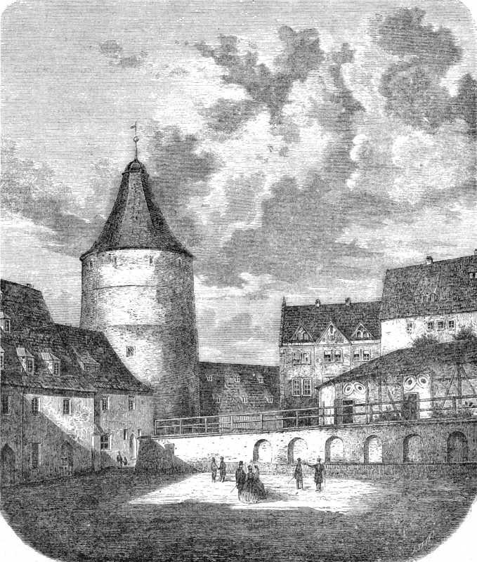 [1899 р.] Загальний вигляд башти П'ястів