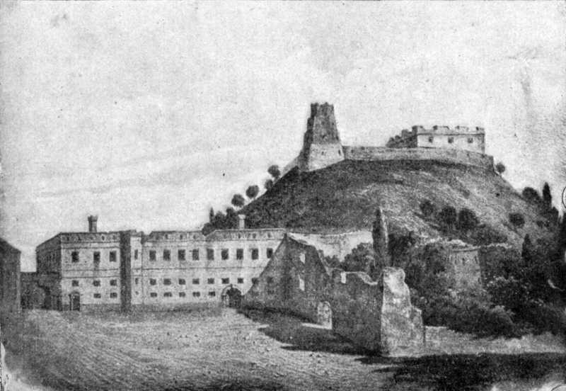 [1899 р.] Загальний вигляд Верхнього та Нижнього замків
