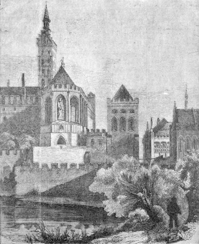 [1900 р.] Вигляд замку з південного…