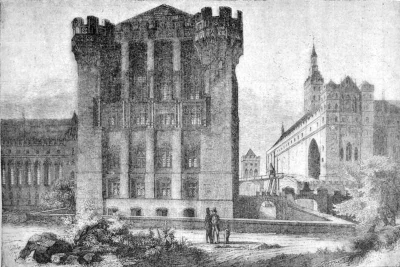[1900 р.] Вигляд замку з боку ріки