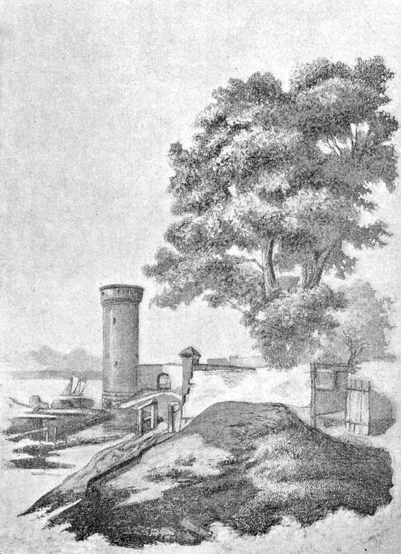 [1900 р.] Сторожова башта замку